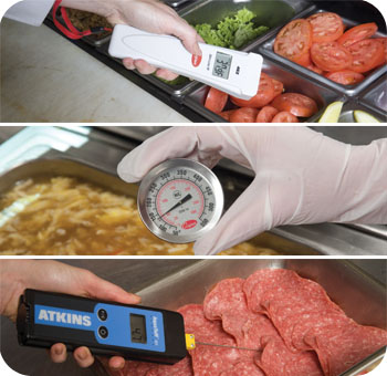 Cooper Atkins Thermometer Bimetall Digital Thermocouple