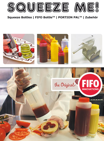 Squeeze Bottle, FIFO, Portion Pal